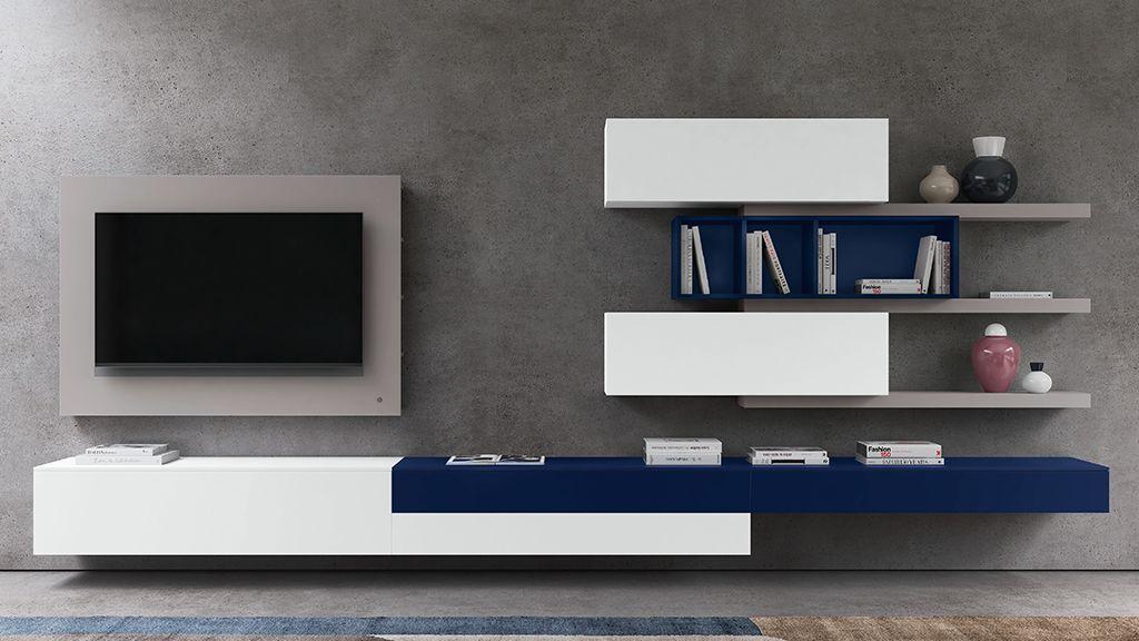 mobili per il soggiorno | librerie | mobili tv | pareti attrezzate ...