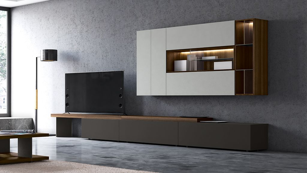 Le soluzioni per l 39 arredamento del soggiorno febal casa for Mobili spa