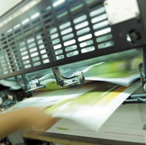 Typesetting and Financial Printing Picture