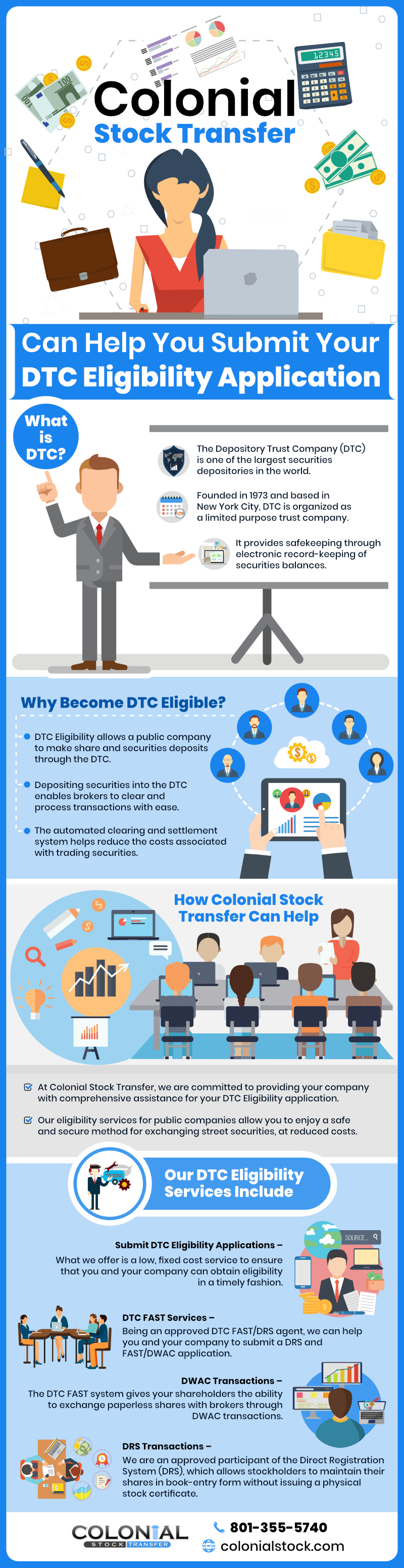 DTC Eligibility Services - Colonial Stock Transfer
