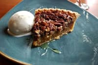 Pecan Tart at Sweet Tea & Barley