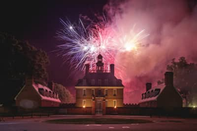 9181f939f Celebrate The Lights of Freedom, our breathtaking, heart pounding finale to  Colonial Williamsburg's Independence Day festivities from a VIP seat on  Palace ...