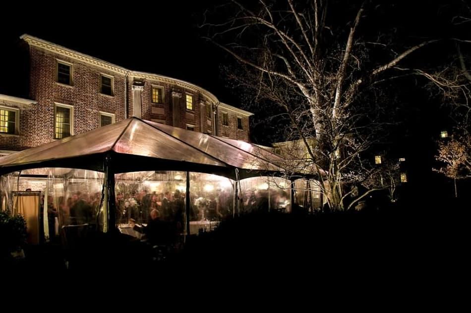 A party on the Williamsburg Inn Terrace