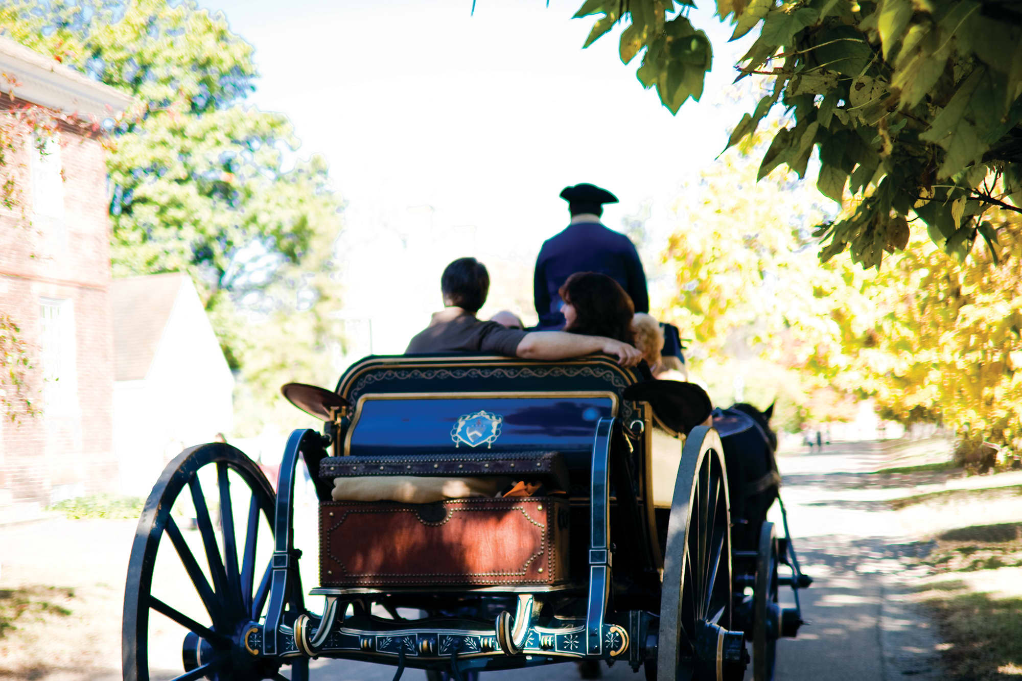 Spooky Carriage Rides (Blue Carriage)