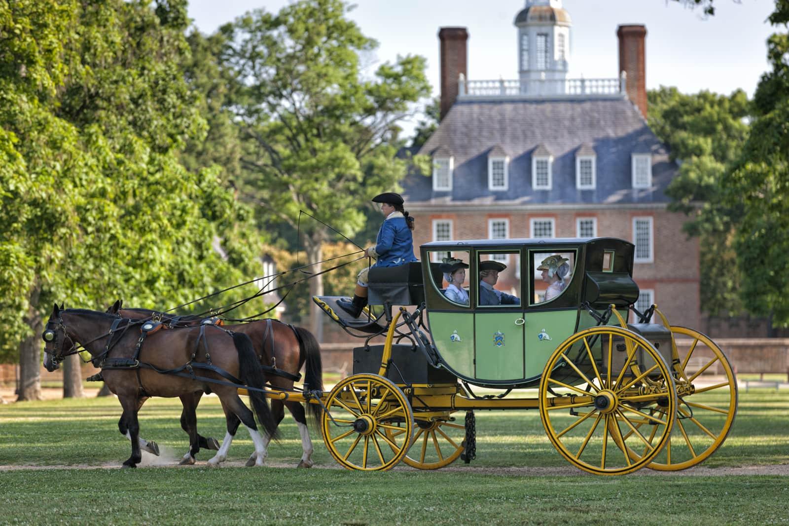 Spooky Carriage Rides (Carter Coach)
