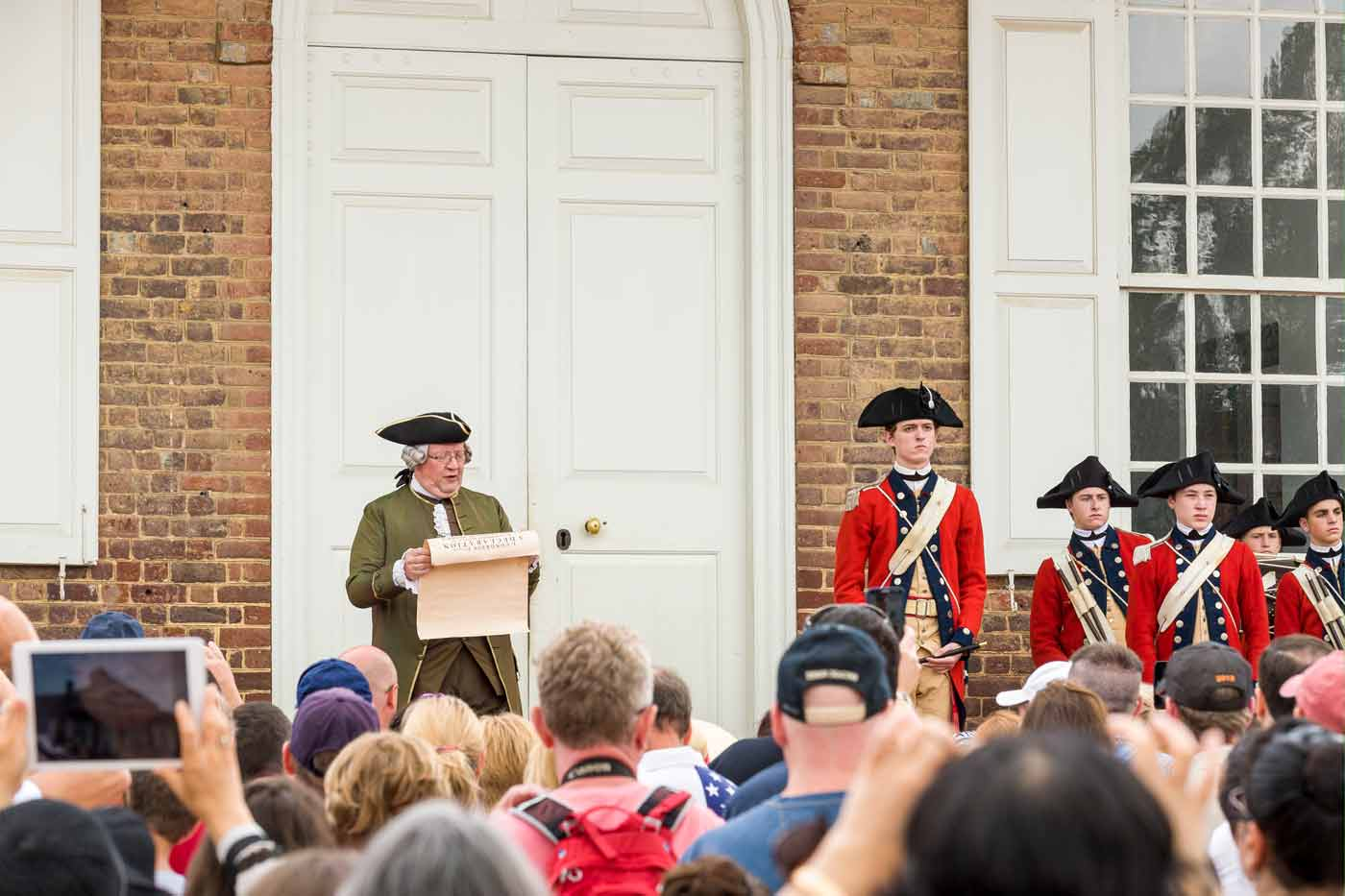 Noon Reading of the Declaration of Independence