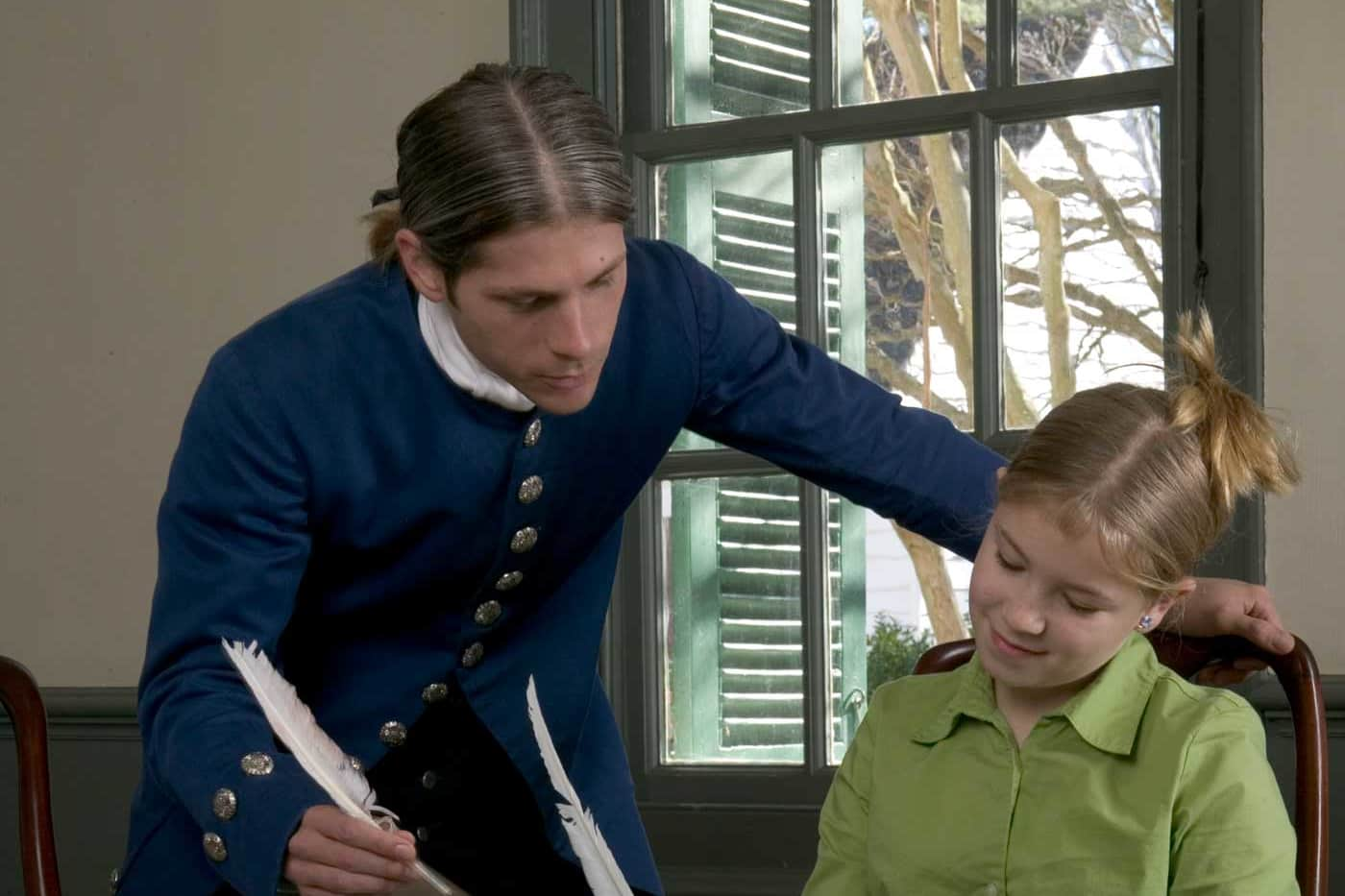Thomas Jefferson, Student in Williamsburg for Home Educators