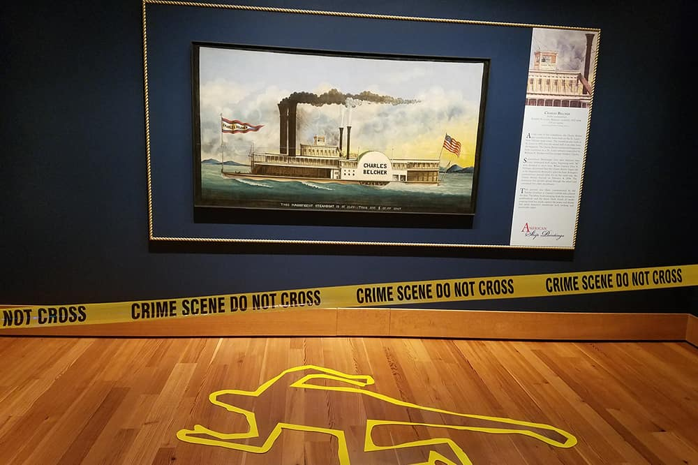 Museum Murder Mystery: Sir Reginald's Return