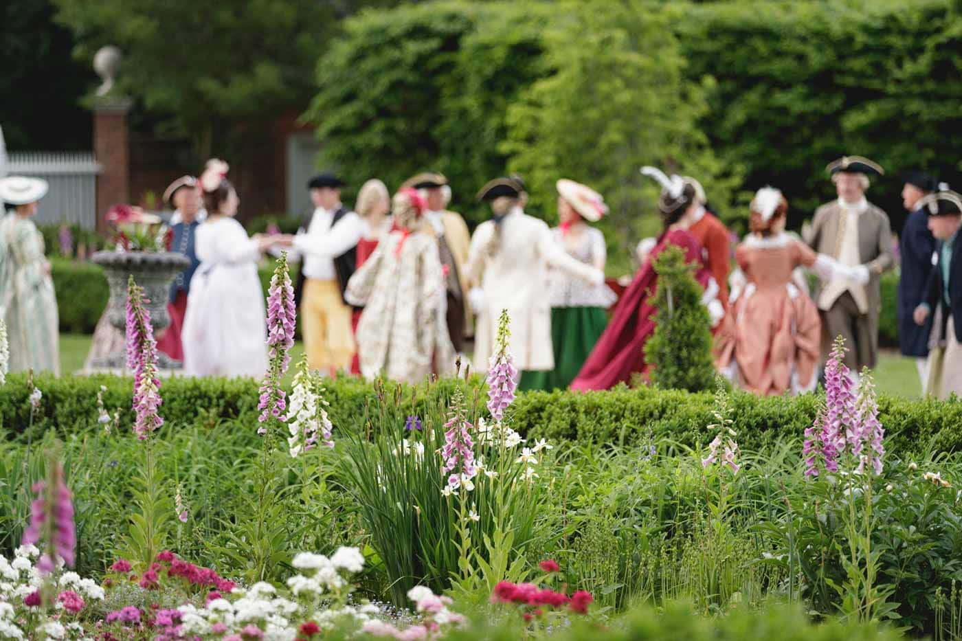 Mr. Jefferson's Palace Garden Party
