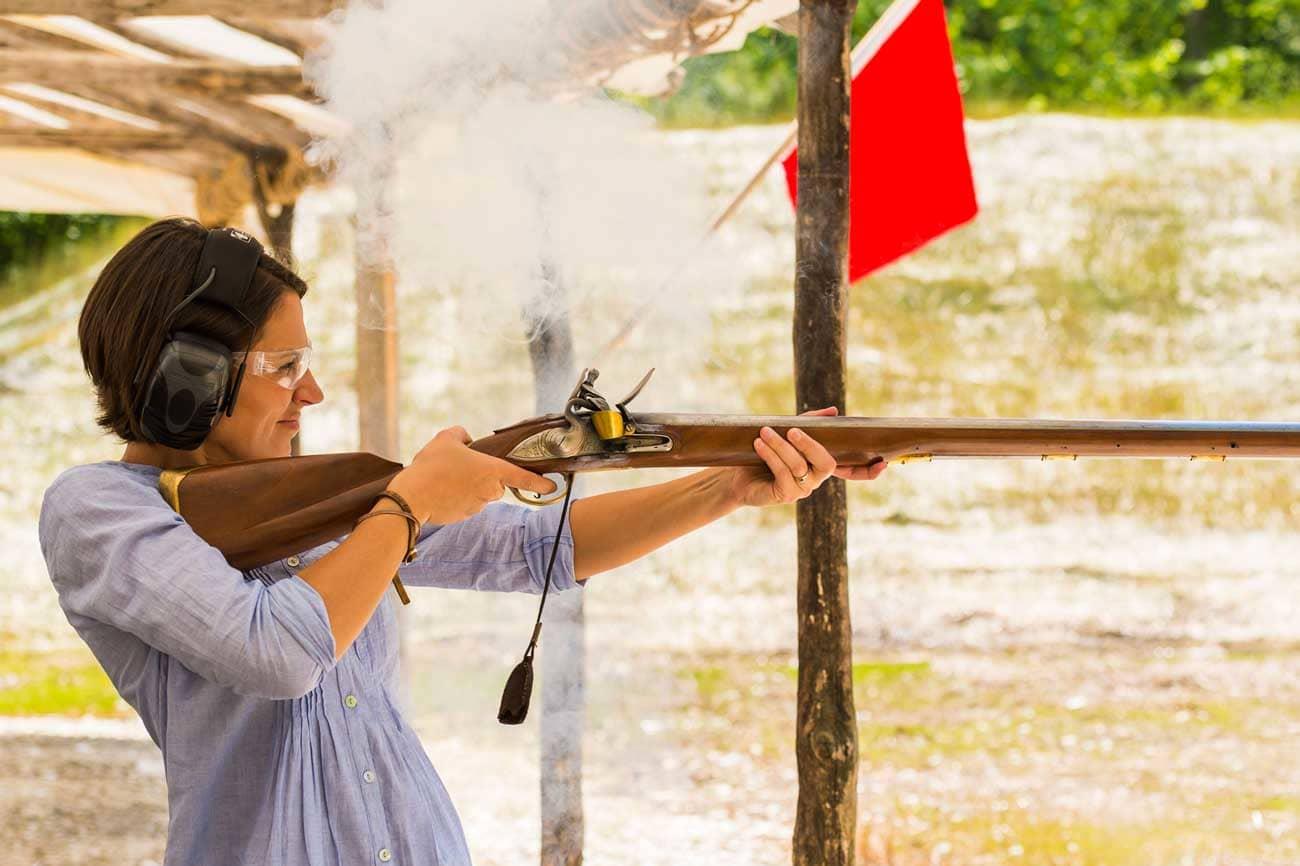 Fire a Flintlock Musket