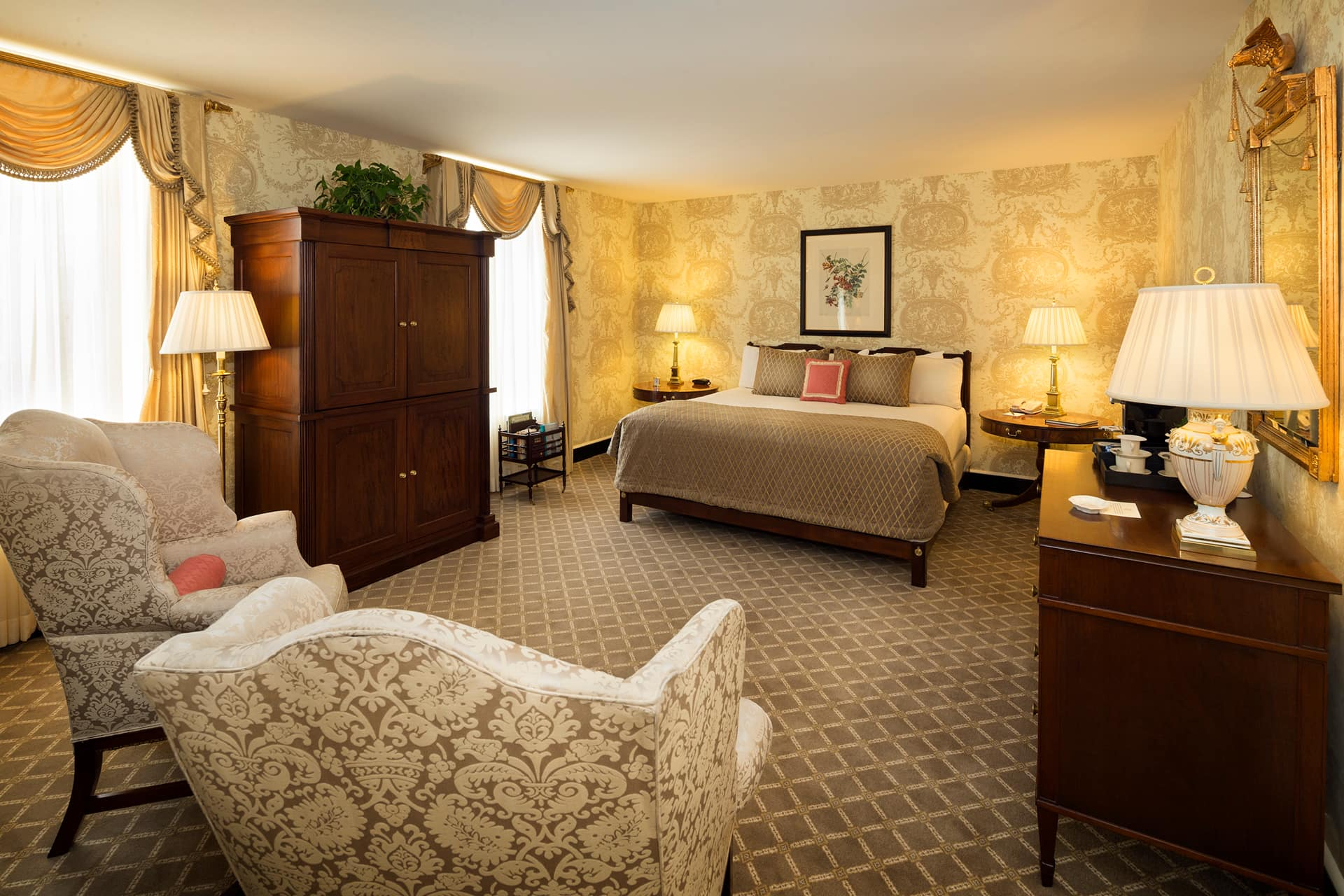 The Williamsburg Inn Luxury