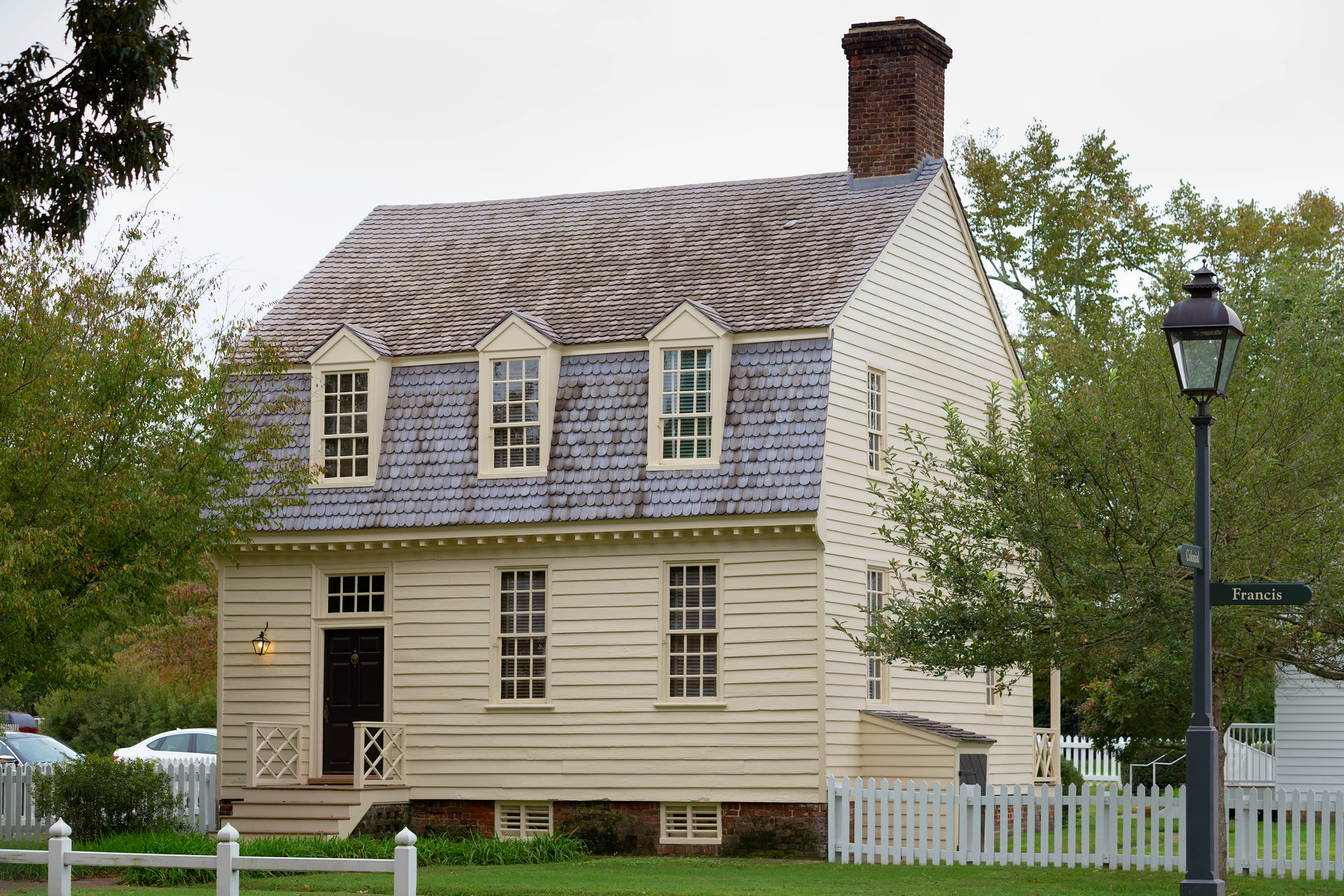Colonial houses for Williamsburg house plans