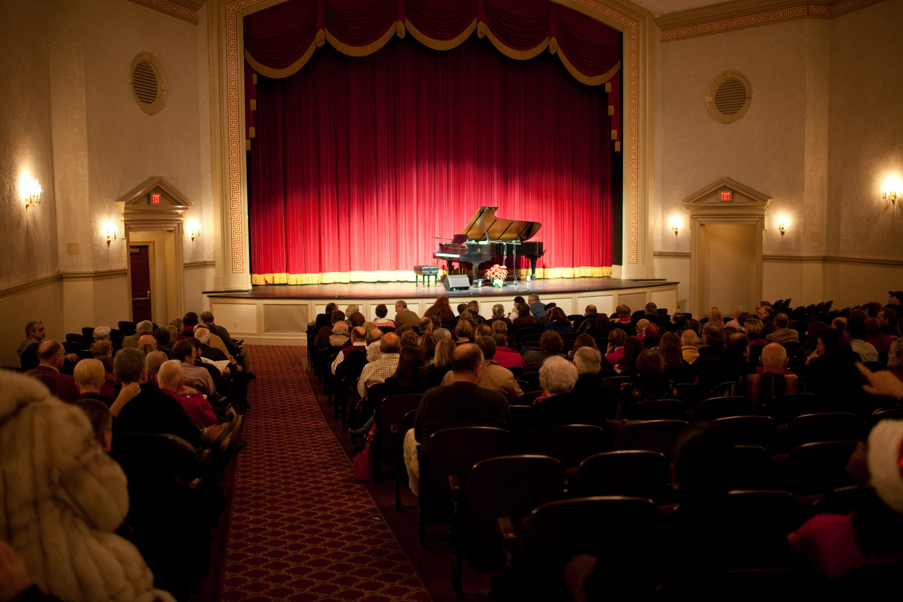 An evening at the Kimball Theater