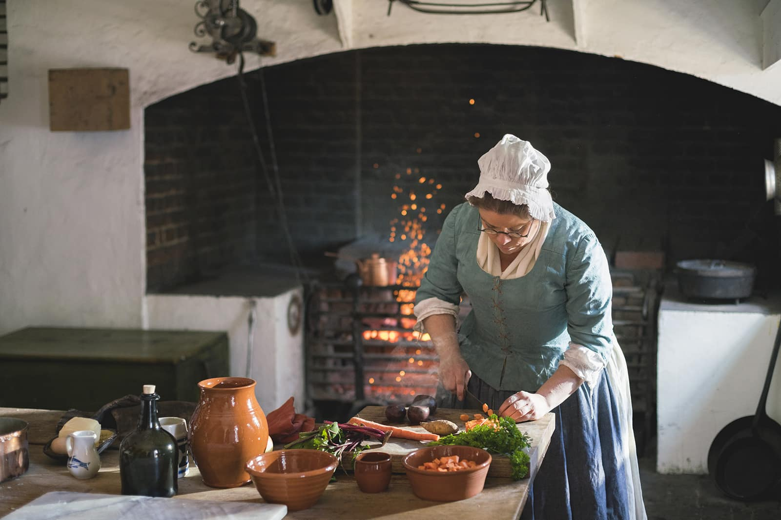 Colonial Williamsburg Foodways