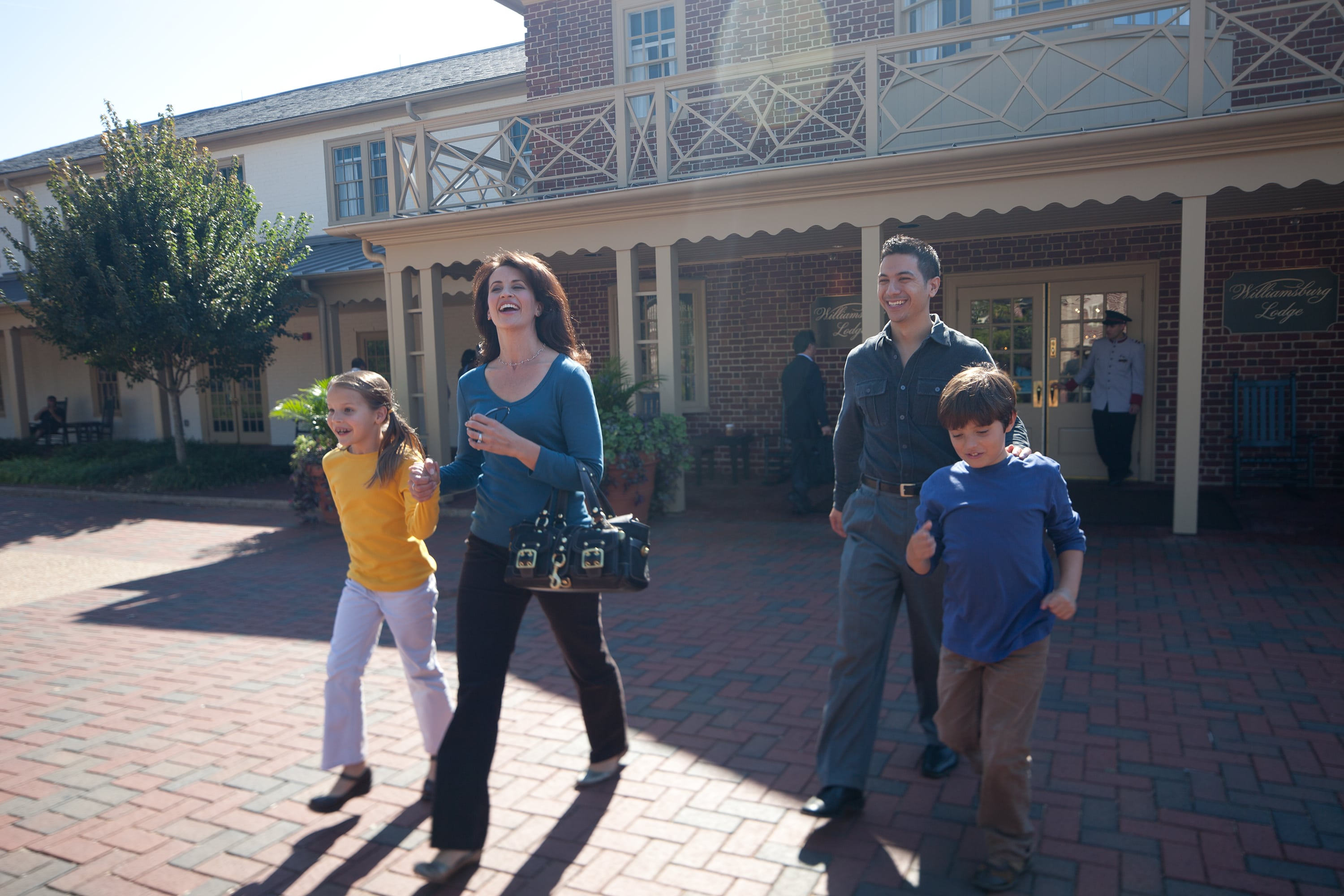 Heading out for a day in Colonial Williamsburg
