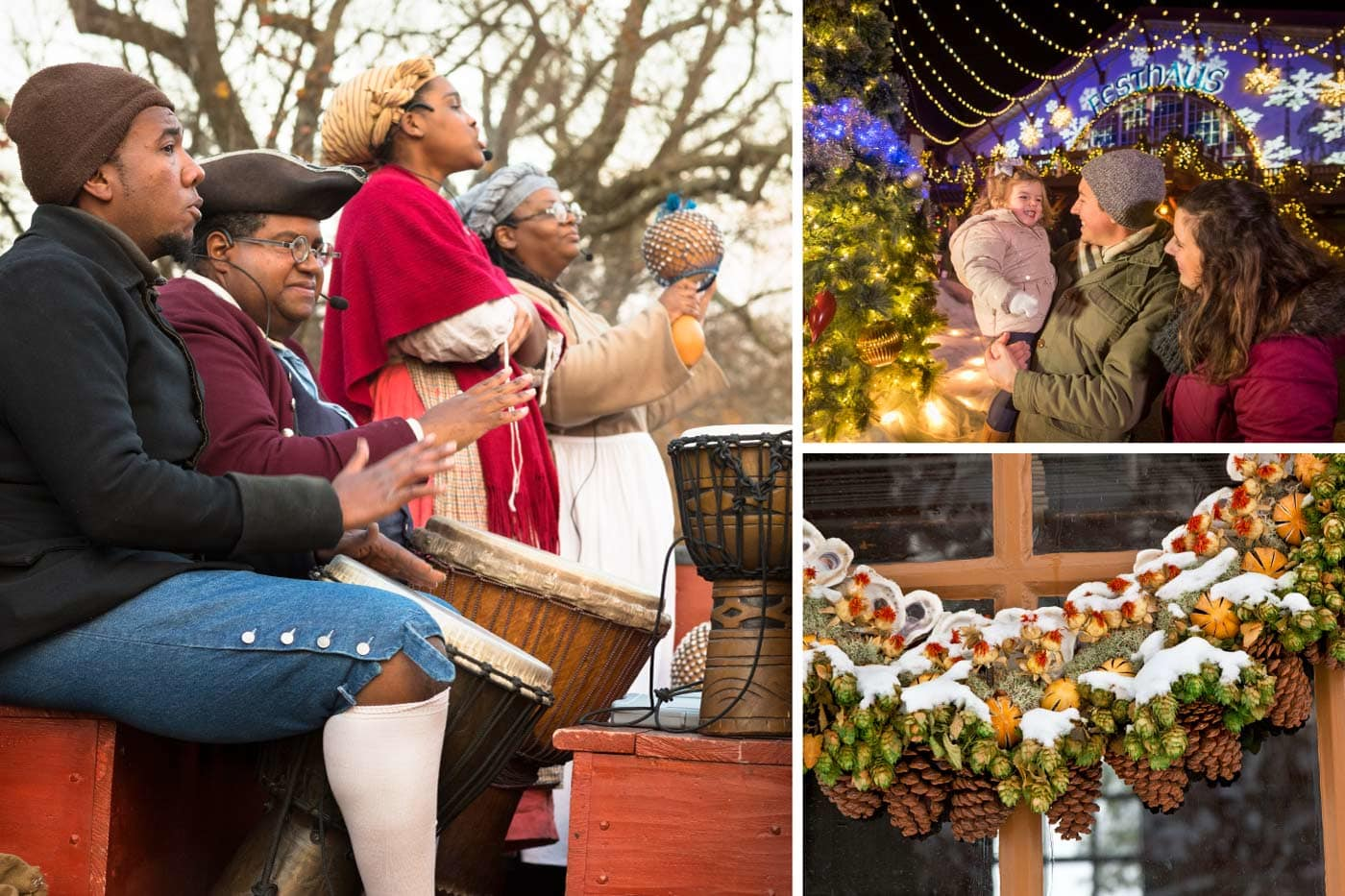 Colonial Williamsburg Christmas Bounce Ticket