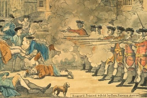 ENGRAVED IN HISTORY, ON THIS DAY IN 1770: THE BOSTON MASSACRE
