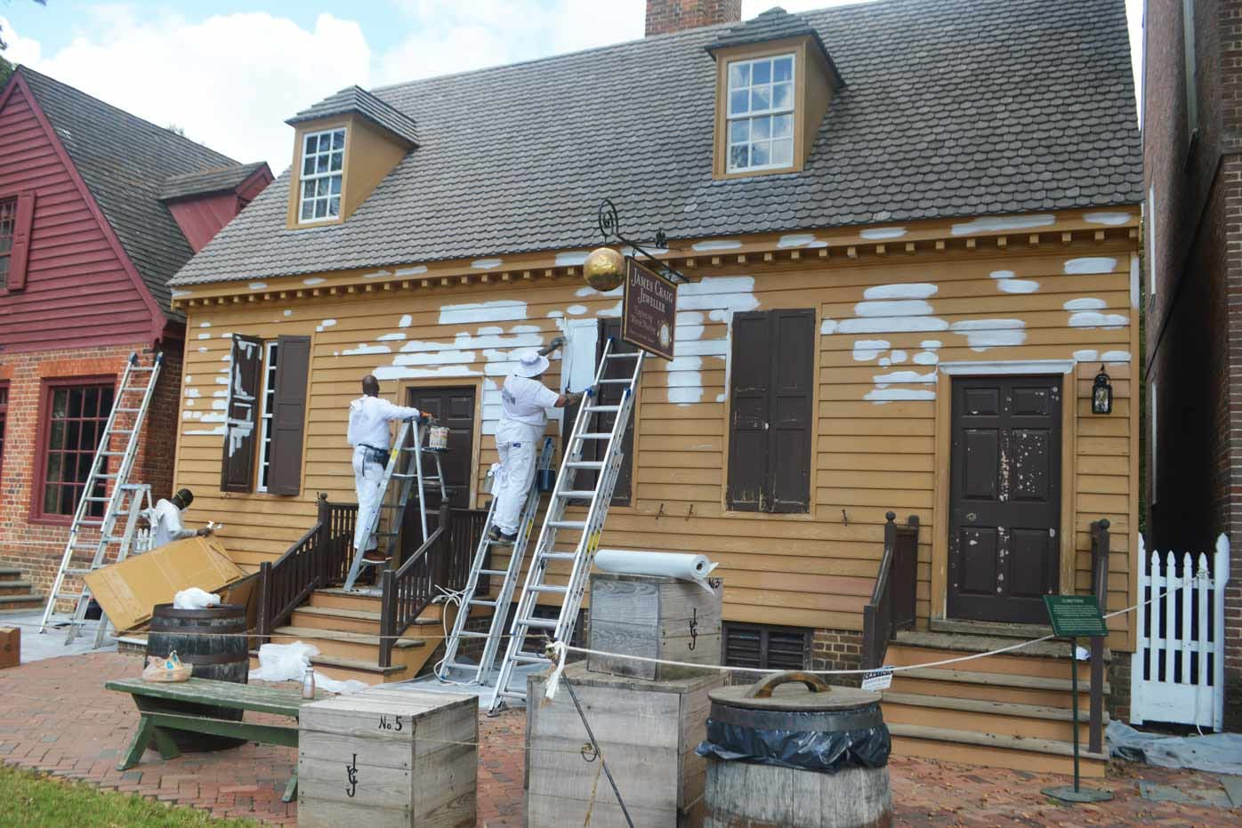 Preserving Colonial Williamsburg: Maintaining our Painted Surfaces in the Historic Area