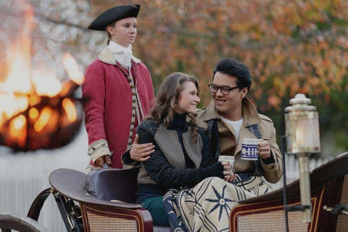 Colonial Williamsburg Holiday Carriage Rides