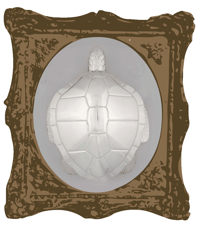 Soup tureen in the shape of a turtle