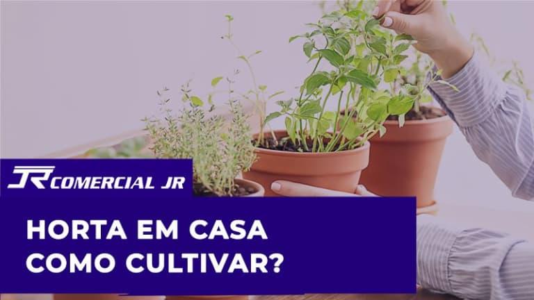 Horta em Casa – Como cultivar em sua casa ou apartamento?