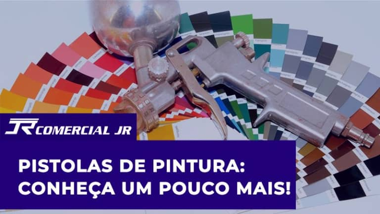Pistolas de Pintura: Conheça um pouco mais!