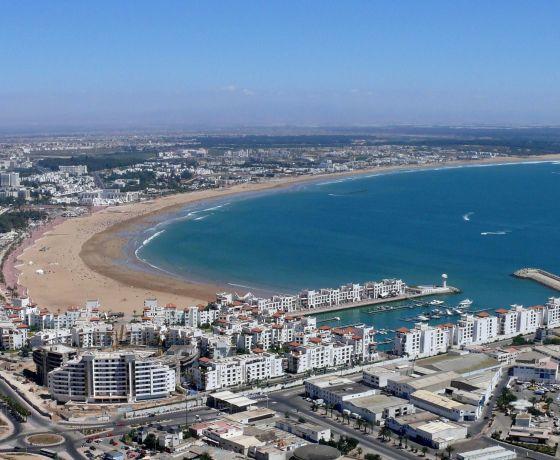 Day trip to Agadir from Marrakech
