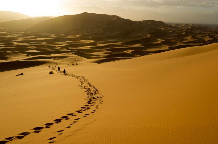 Sahara deset of Morocco