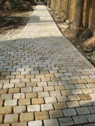 Sandstone Cobbles Kota Yellow White