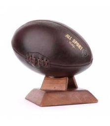 VINTAGE RUGBY BALL - Reproduction à l'identique de ballon de rugby des années 30, en cuir et fait à la main