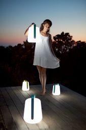 Balad lamp - Belle lampe nomade avec 2 ou 3 intensités de luminosité.  Disponible en plusieurs coloris et en set de 3!