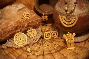 Pre-Columbian art collection - handmade, high-quality replicas of pre-Columbian jewellery