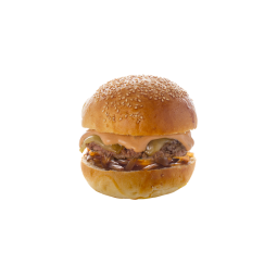 BURGER SAVOYARD - Steak  (French meat) Tomme de Savoie Onion confit Chef's Sauce