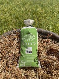 Organic Green Lentils - La lentille verte Bio correspondra à l'attente de vos clients soucieux de l'environnement et aux consommateurs heureux de trouver produit BIO et qualité réunis.