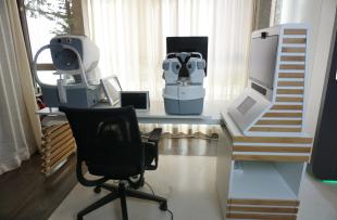 Table de téléophtalmologie connectée