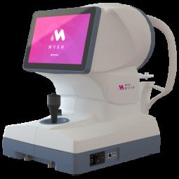 MYAH : Myopie évolutive et sécheresse oculaire - MYAH est un dispositif polyvalent et autonome qui fournit toutes les technologies nécessaires à la prise en charge de la myopie : biométrie optique, topographie cornéenne, pupillométrie, cartes comparatives et différentielles, simulation d'adaptation lentille, dépistage kératocône... Il intègre également des outils pour la prise en charge de la sécheresse oculaire : BUT non-invasif, analyse des glandes de meibomius, analyse des clignements, hauteur du ménisque lacrymal, imagerie à la fluorescéine.