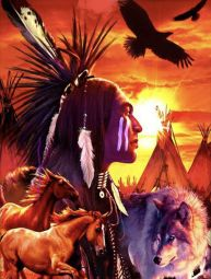 Arte Native Navajo Indien USA - ARTS & CRAFTS