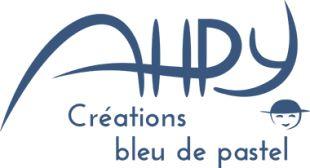AHPY Créations Bleu de Pastel logo
