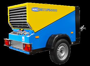 MSP5000 - Compresseur mobile diesel - La gamme de compresseur MSP est reconnue par les professionnels de la construction pour sa fiabilité et ses performances. Personnalisables et adaptables, les modèles de compresseurs pour les zones régulées sont équipés de la motorisation Stage V.La gamme de compresseur MSP est reconnue par les professionnels de la construction pour sa fiabilité et ses performances. Personnalisables et adaptables, les modèles de compresseurs pour les zones régulées sont équipés de la motorisation Stage V.