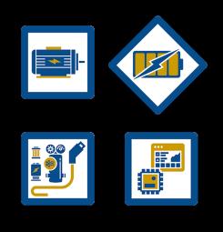 Systèmes complets d'électrification - Avec une expérience significative dans le domaine de l'électrification sur tous type d'engins, nous proposons une gamme complète de systèmes d'électrification adaptés aux enjeux actuels du marché. Ces solutions sont composés de plusieurs briques technologiques assemblées entre elles pour fournir en série un produit fini, Plug'n'Play et à moindre coûts pour nos clients. Ces quatre briques technologiques standardisées, que nous pouvons assembler pour adresser tous types de demandes sont :       - La conception et la production de pack batterie à haute performance, à plage de fonctionnement étendue et à des prix compétitifs.      - La sélection, l'intégration et le pilotage de groupes motopropulseurs de tous types de puissance.      - L'électronique de gestion et le développement logiciel associé, intégrant le diagnostic système à distance.      - Une offre d'accessoires, véhicule et utilisateur.