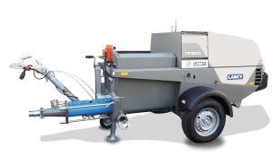 Pompes à chapes fluides TF300-D et TF400-G - Nouvelle génération de pompe à chape fluide puissante (37 kW) et conforme à la norme Stage V, très simple d'utilisation et tractable sur essieu non freiné.   A découvrir pour la 1ère fois sur le salon Construction Days.