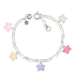 Figaro bracelet stars