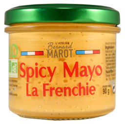 SPICY MAYO BIO - Discover the recipe for our spicy sushi sauce revisited by l'Atelier. Dipp your crunchy vegetables or breadsticks as an aperitif. Delicious with your fish, Fisf and Chips and suhis. Also ideal as an accompaniment to grilled meats on the barbecue.