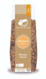 Maccheroni  chanvre - Pâtes artisanales italiennes • Recette riz, maïs et chanvre • Source de protéines • Source de fibres • Sans gluten • Véganes