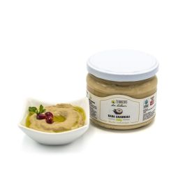 hummus - The famous Lebanese hummus, served with olive oil and bread. Enjoy with grilled meats and vegetables. Ideal for spreading on on toast and pita or as a dip for the aperitif. You can also sprinkle it on top or mix it with or mix it with spices or fresh herbs.