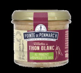 Albacore Tuna rillettes with organic Espelette pepper 100g