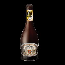 CAP D'ONA AMBREE BIO TRIPLE - Bière Ambrée bio purs malts de type Belge, refermentée sur lie et affinée en dry Hopping. Cette bière triple cuivrée possède une puissance maltée, une complexité aromatique et une rondeur parfaite. Un petit bijou de plaisir élue « meilleure bière type Belge Française ».