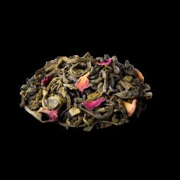 Thé vert - Vallée du Nil 88 - Un délicat thé vert floral et subtil aux notes de jasmin et de bergamote.  Fermez les yeux et laissez-vous porter le long du Nil par un parfum de fleurs de jasmin, de délicats pétales de roses et d'un zeste d'écorce de bergamote. Inspiré par les aventures d'Agatha Christie, ce thé vert délicat aux saveurs souples, aromatiques et rafraîchissantes peut être apprécié toute la journée, jusque tard dans la nuit, pour de beaux moments d'évasion.
