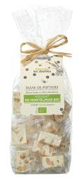 Nougat de Montélimar BIO - Nougat de Montélimar avec des ingrédients 100% biologiques.