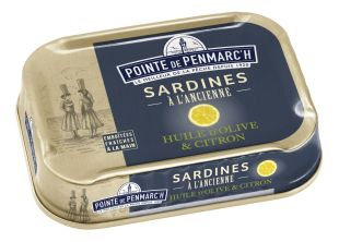 Sardines in olive oil and lemon 115g